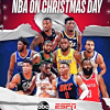 Here's the NBA TV schedule for Christmas Day on ABC, ESPN (2018)