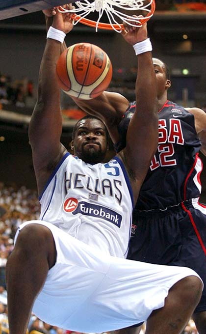 Huge in 2006: Sofoklis and Team Greece