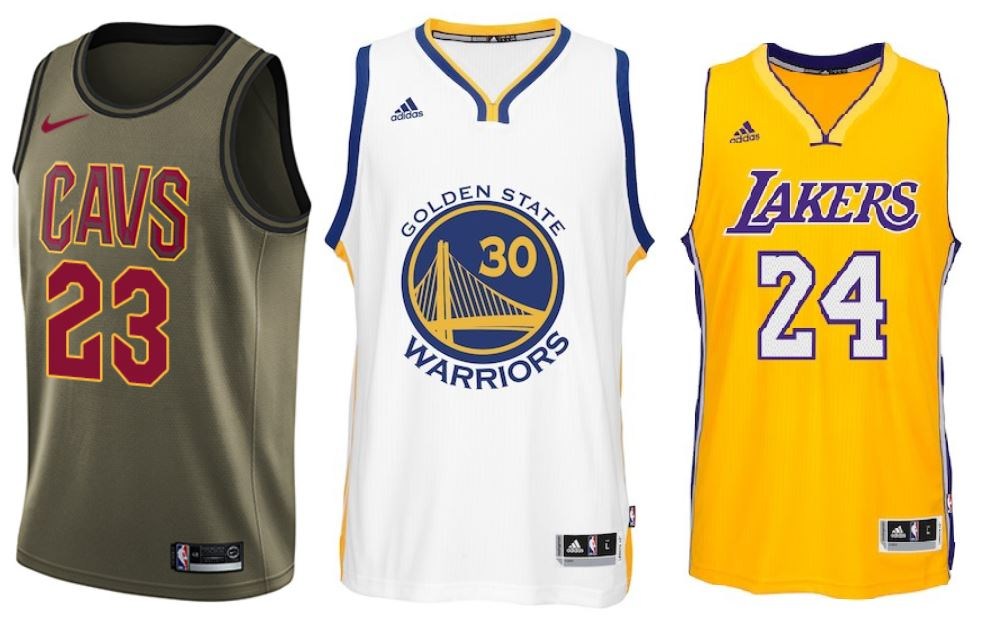 quality design b45be 8619e The NBA's Most-Popular, Best-Selling Jerseys by Year (2005-)