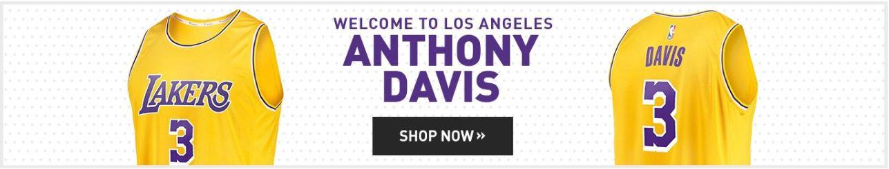 quality design fda33 49d00 Anthony Davis Lakers Jerseys: Anthony Davis Los Angeles ...