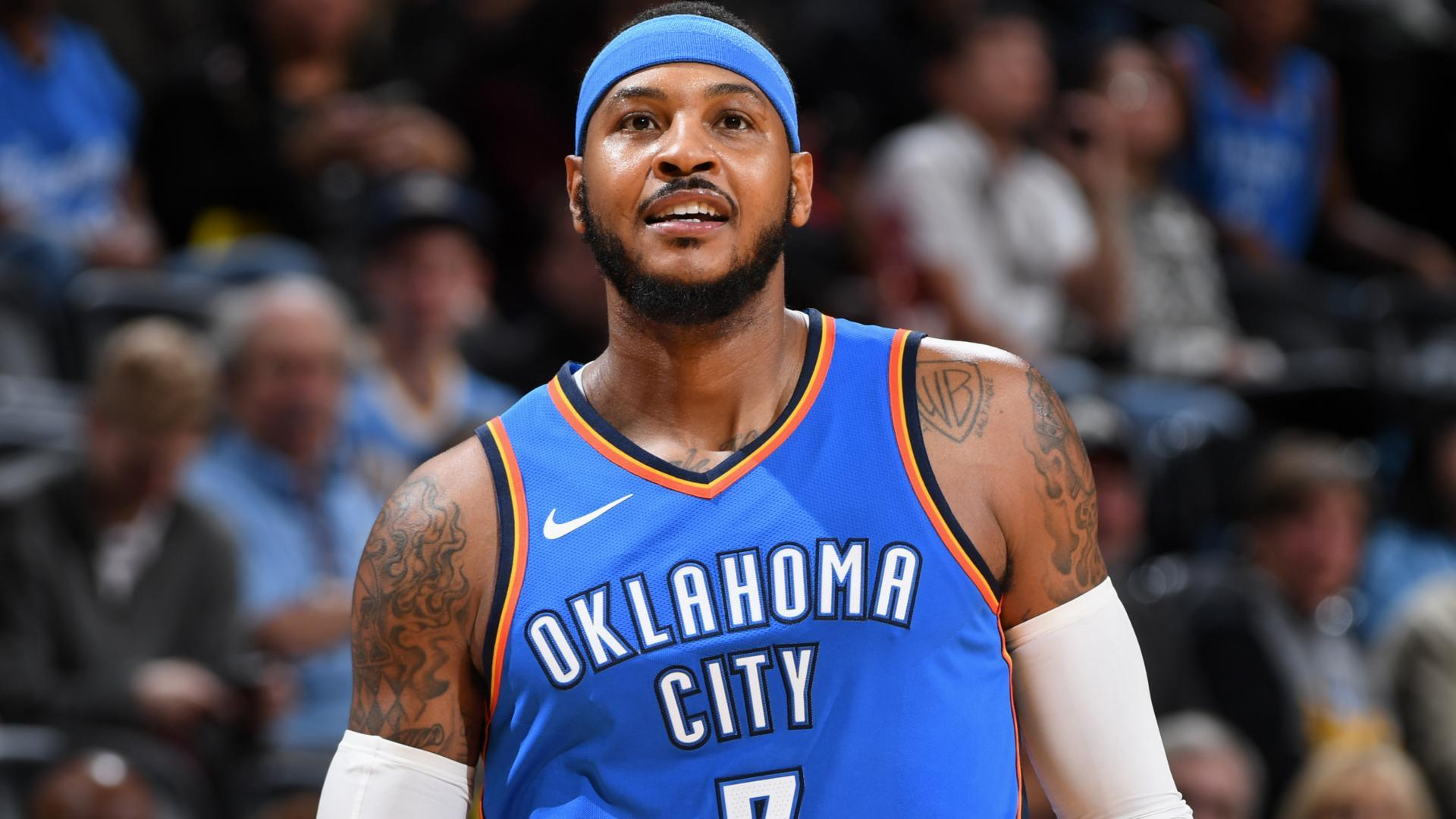 Carmelo Anthony scores 25,000th point, joins 20 other NBA legends to do so