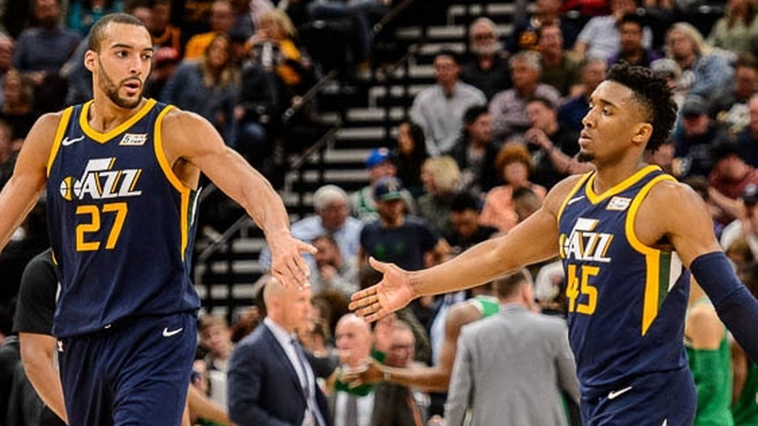 Rudy Gobert and teammate Donovan Mitchell are first nba players with coronavirus