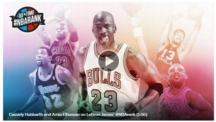 The Full List Of Espn S 100 Greatest Nba Players Of All Time