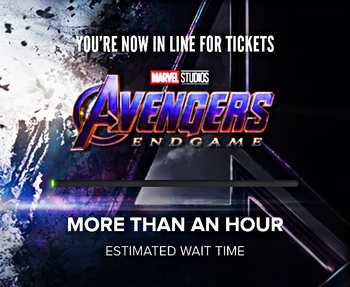 Avengers Endgame Tickets: Thanos Wipes Out Fandango, AMC