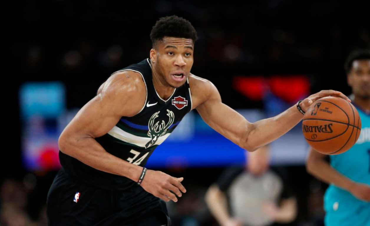 Giannis Antetokounmpo's NBA story is to never give up on your dream