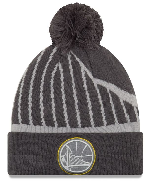 GSW Knit Hat by New Era - NBA gifts under $20