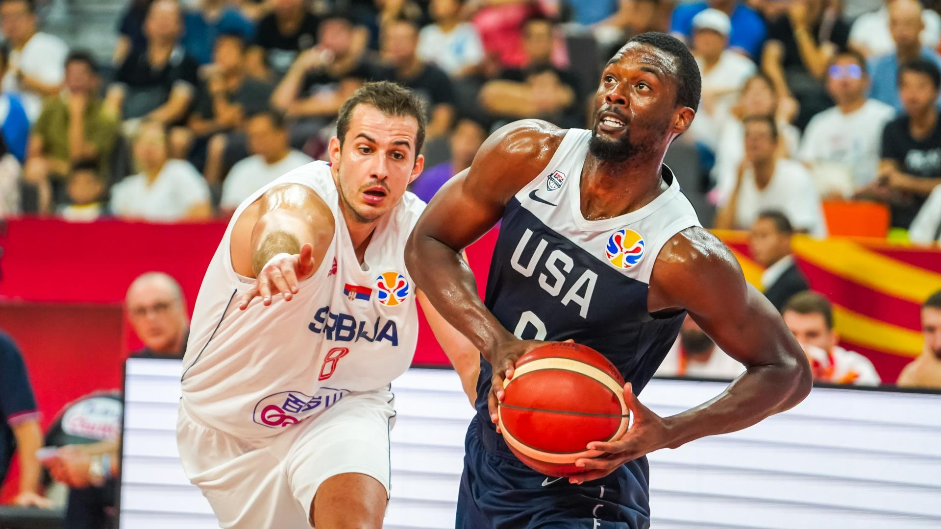 Serbia steamrolls Team USA 32-7 in first quarter, goes on to win 94-89 in FIBA World Cup