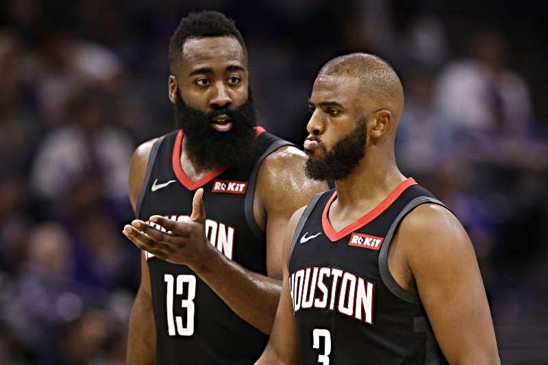 Report: Rockets James Harden, Chris Paul really hate playing with one another