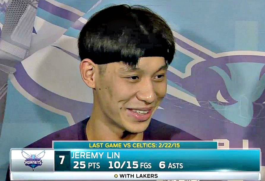 Spencer Hawes Is Calling The Shots On Jeremy Lins Hair