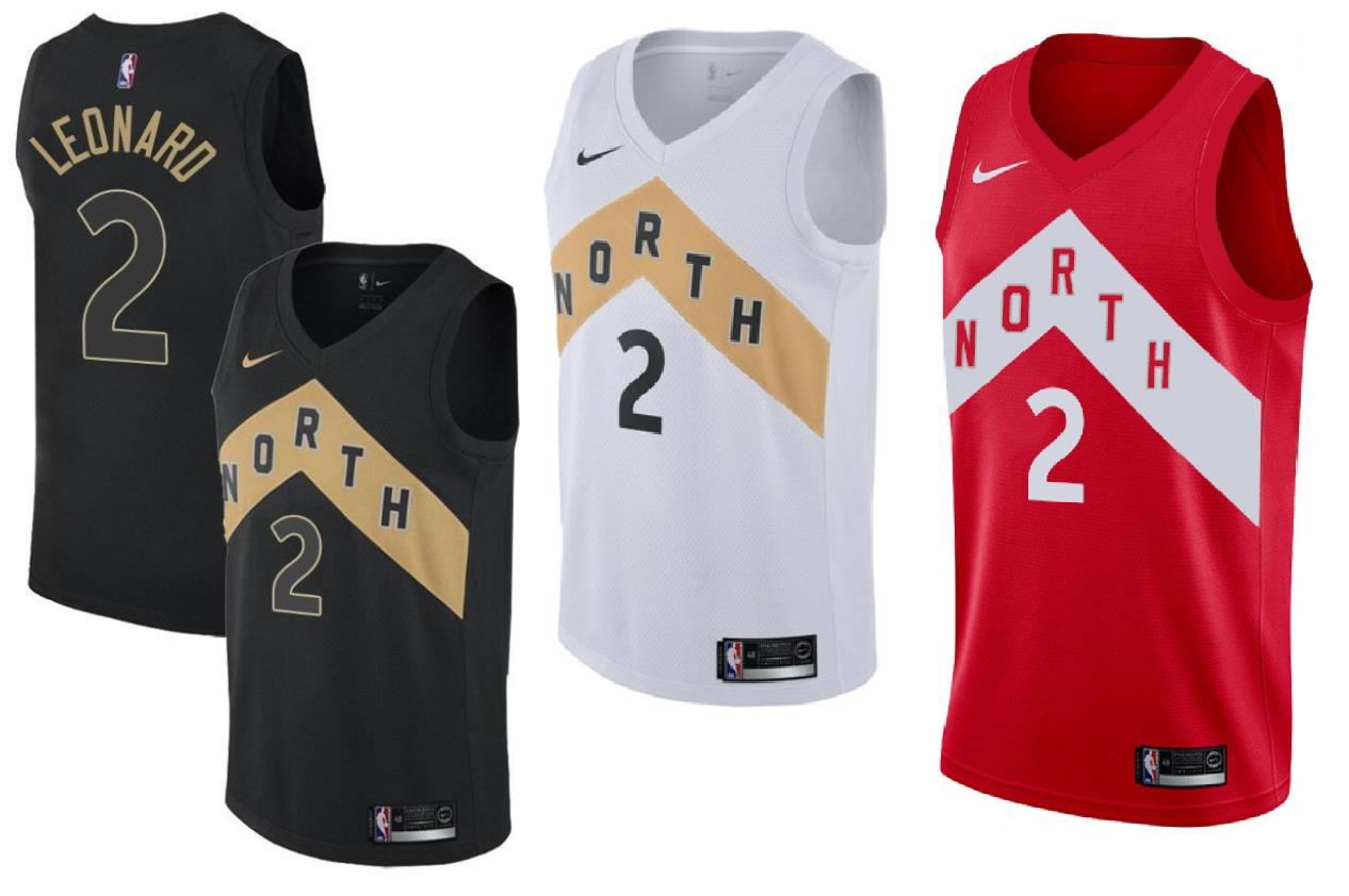 7d7abc0f032 The Raps were wearing the red version of these jerseys when they won the NBA  Championship defeating the Golden State Warriors in Game 6 of the NBA Finals .