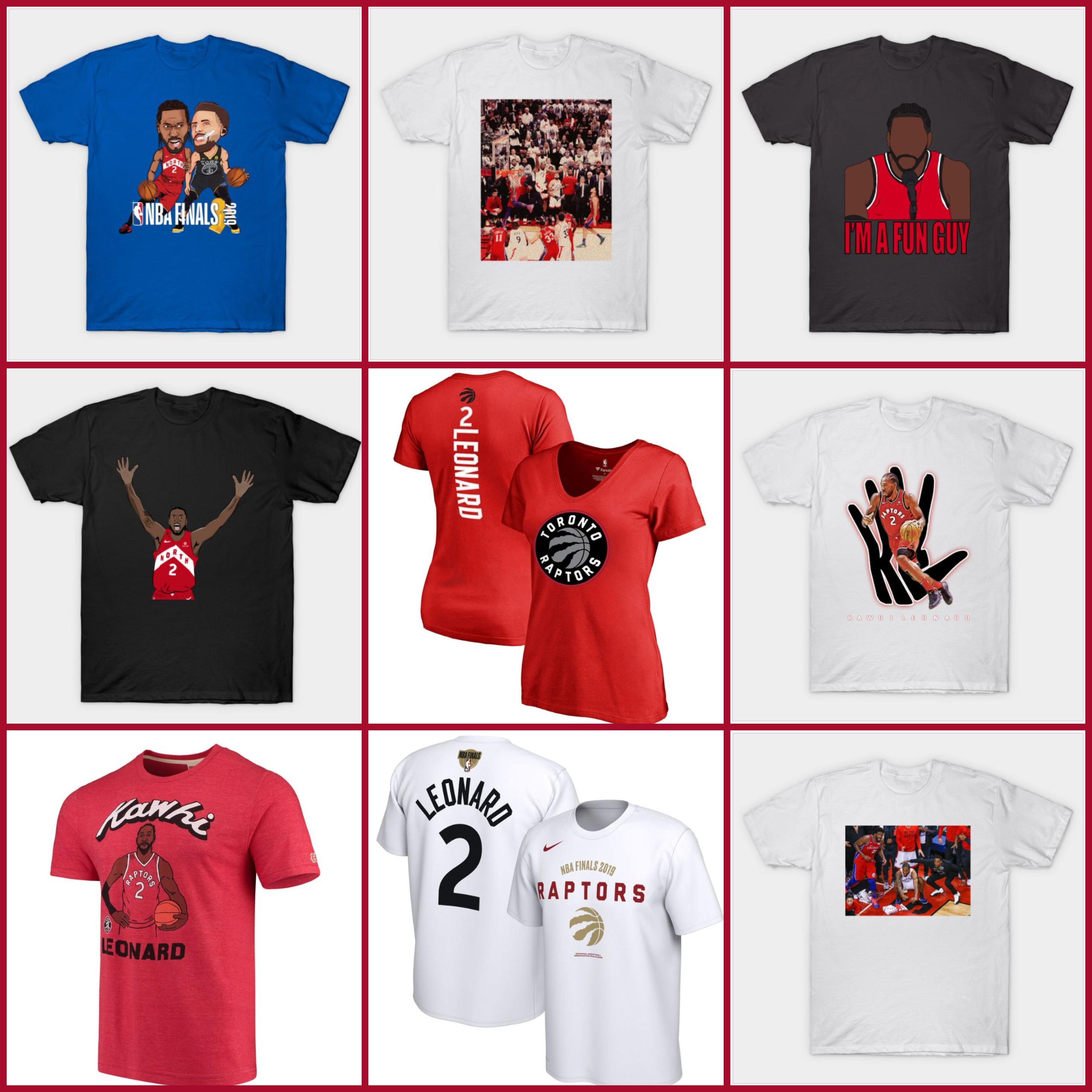Kawhi Leonard Shirts: Kawhi Raptors Tees & 2019 NBA Finals