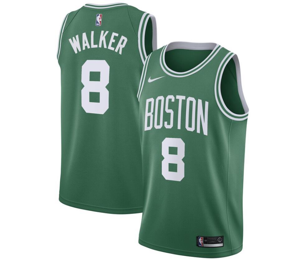 Here's Kemba Walker's Boston Celtics Jersey: Kemba #8 Celtic