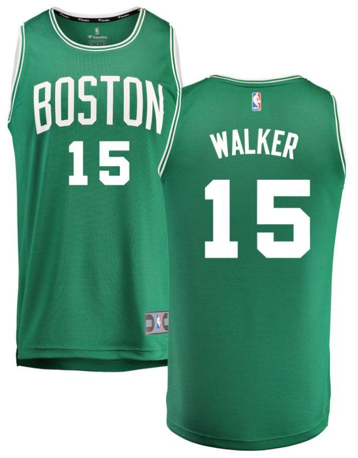 Kemba Boston celtics jersey #15