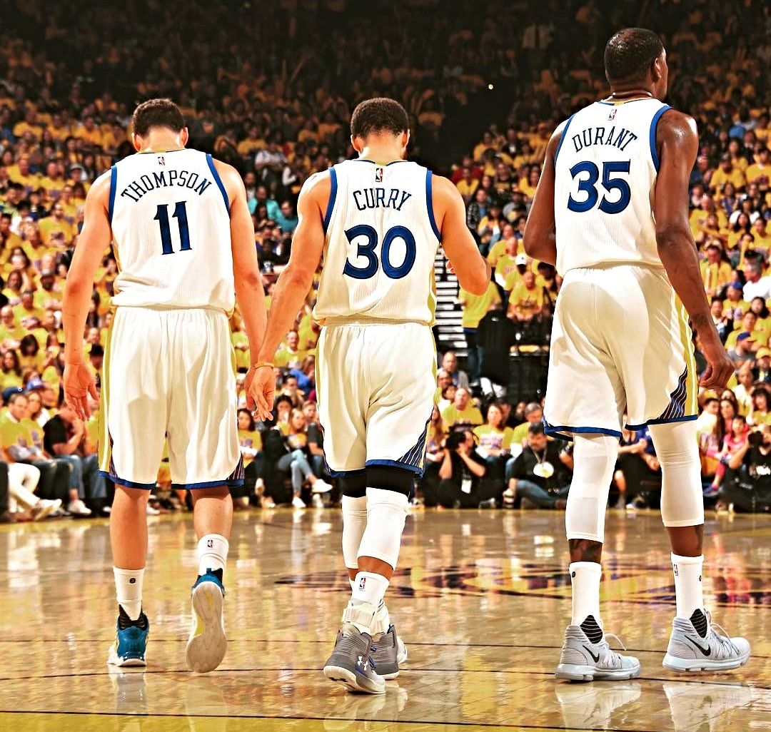 Warrior's Steph Curry, Klay Thompson and Kevin Durant all converted 4-point plays last night