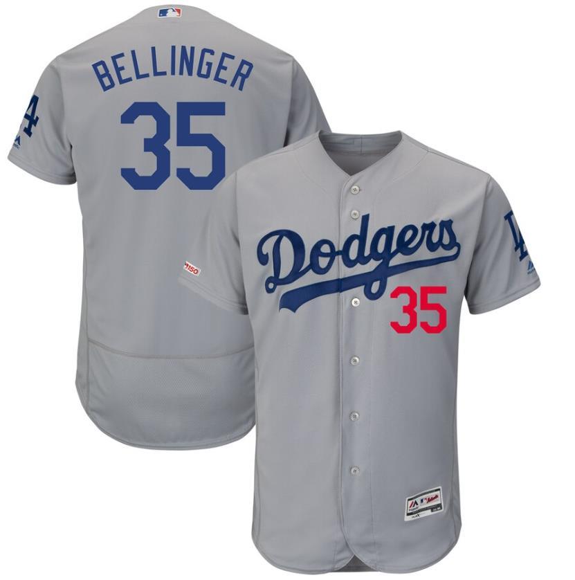 LA Dodgers gray cody bellinger jersey