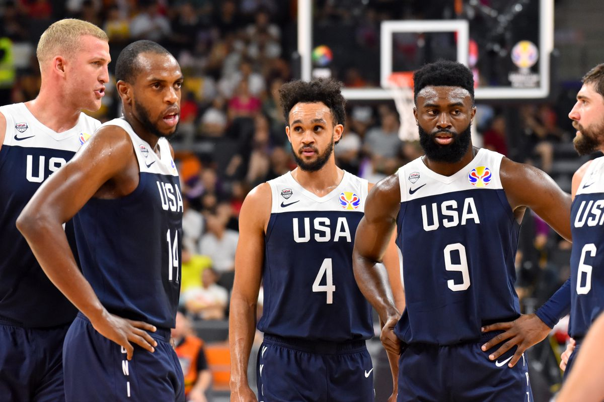 It's crazy that 35 NBA players pulled out of the FIBA Basketball World Cup tournament