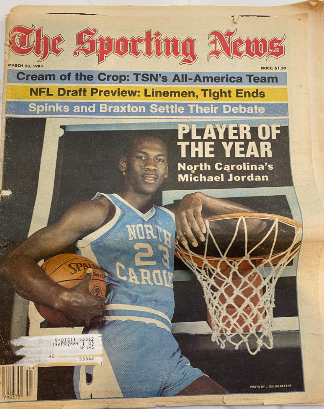 Throwback: Read this dope Michael Jordan article from an 1983 issue of The Sporting News magazine