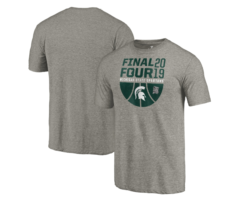 f2f1fa904 This athletic casual tee will definitely be one of the best pieces in your Michigan  State Spartans closet. We think so, at least.