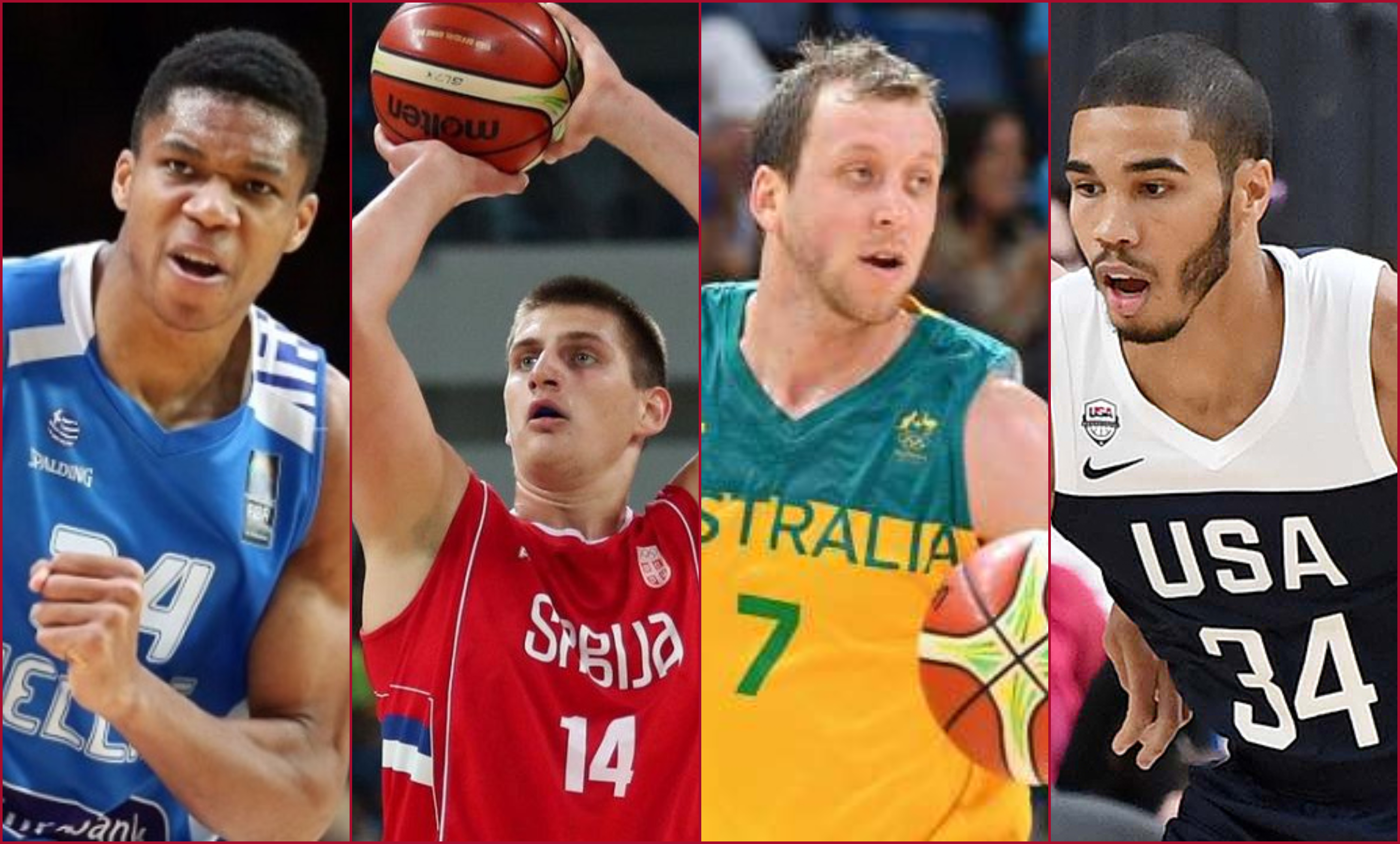 Here's a list of every NBA player participating in the FIBA World Cup