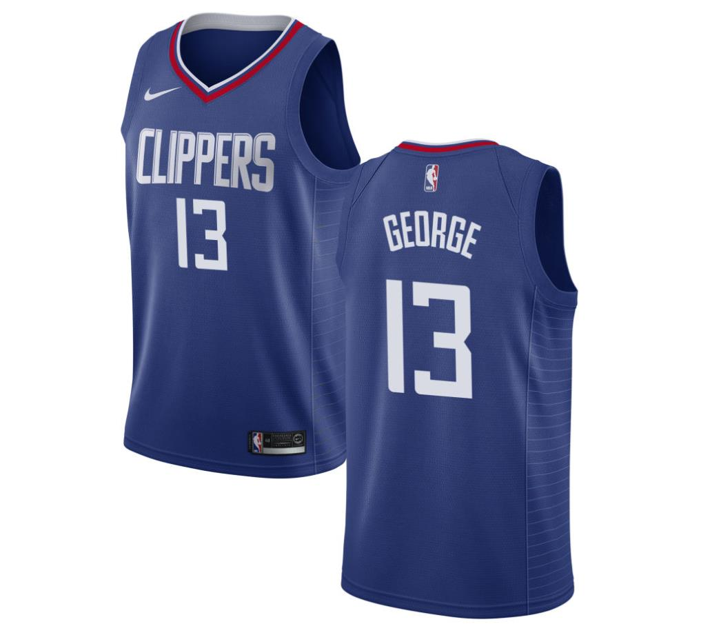 reputable site 87220 2f34c Paul George Jerseys: Los Angeles Clippers Paul George #13 Jersey