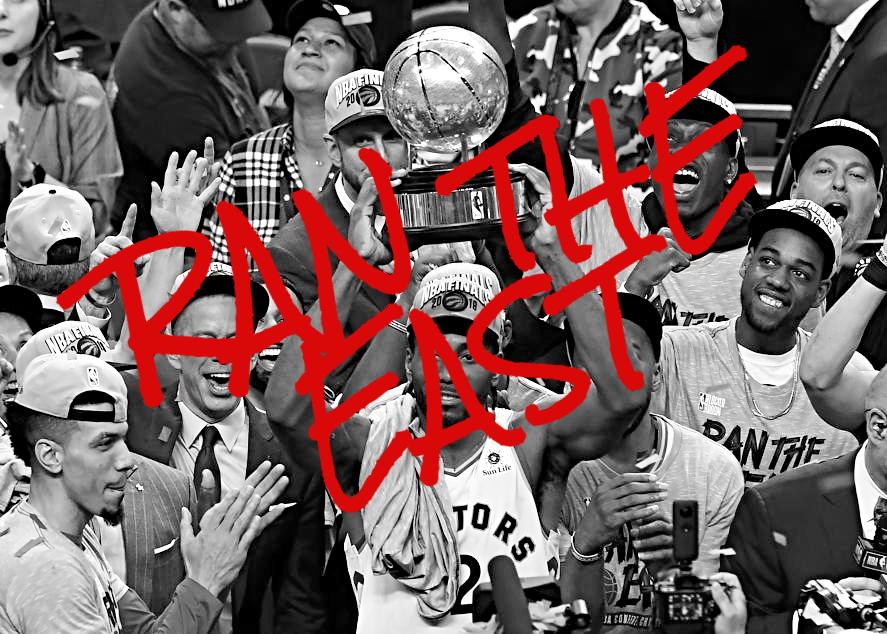 "Get the Toronto Raptors ""Ran the East"" Shirt and 2019 NBA"