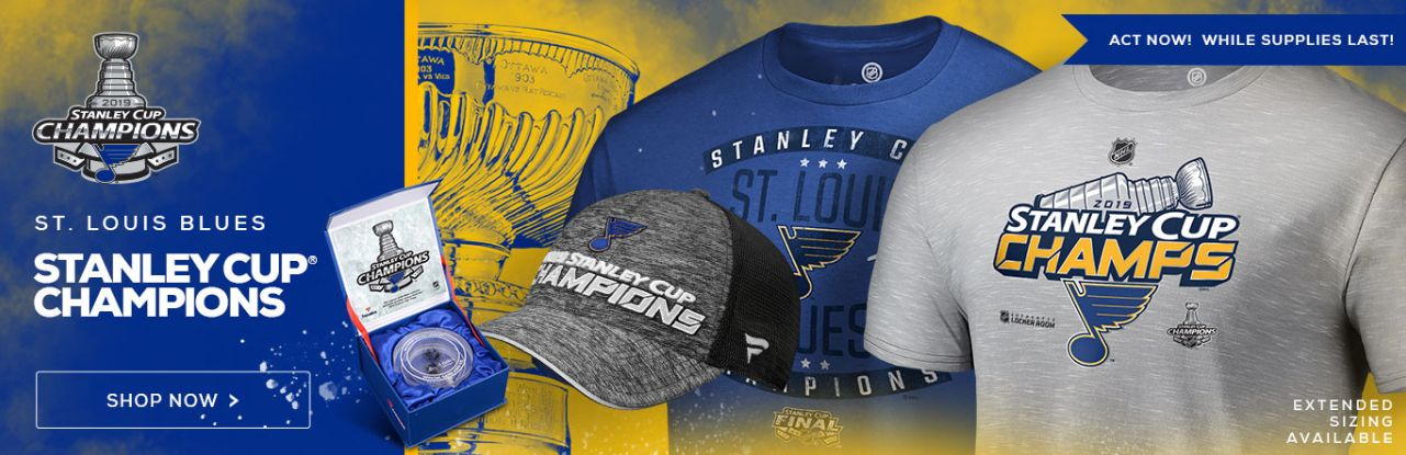 graphic relating to St Louis Blues Printable Schedule named Formal St. Louis Blues Championship Shirts, Jerseys