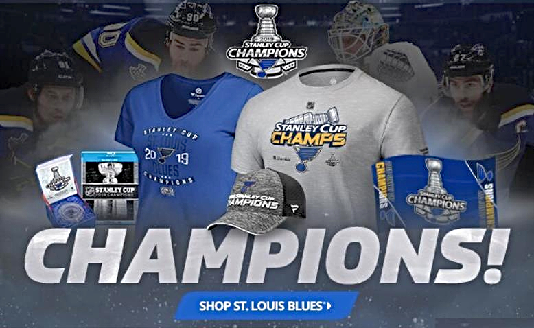 a8022de1b61 The 14 Best St. Louis Blues Championship T-shirts, Hats, Jerseys and 2019  Stanley Cup Gear