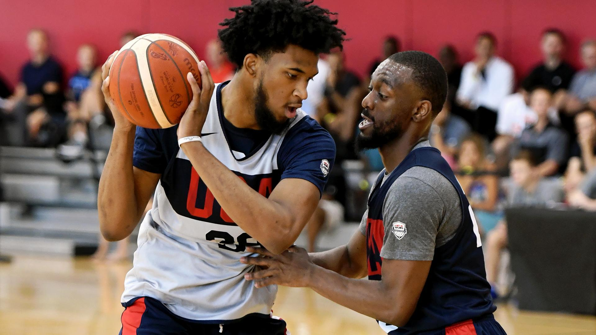 Team USA struggles against Select Team in scrimmages ahead of FIBA World Cup