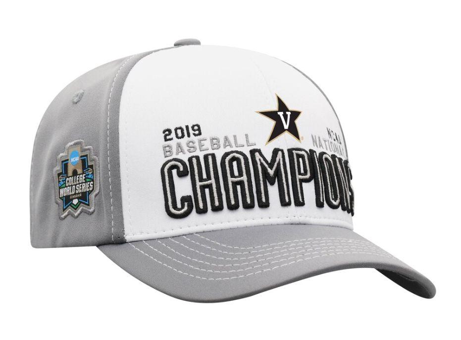 new products e04c3 faef8 Vanderbilt Men s Baseball 2019 College World Series National Champions  Adjustable Cap   Fanatics