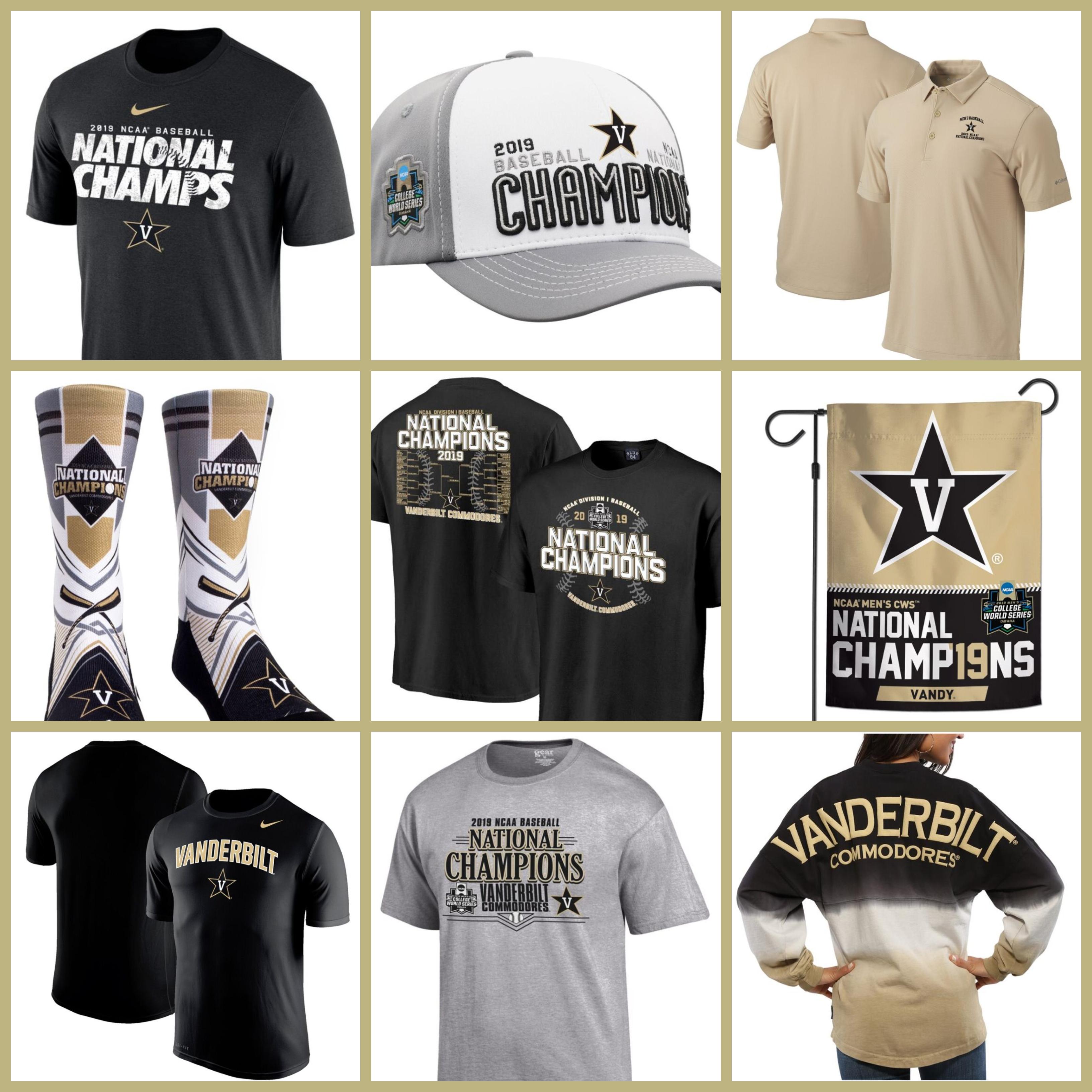 on sale 1219c aad4b The 15 Best Vanderbilt Baseball Championship T-shirts, CWS Jerseys and Baseball  Caps