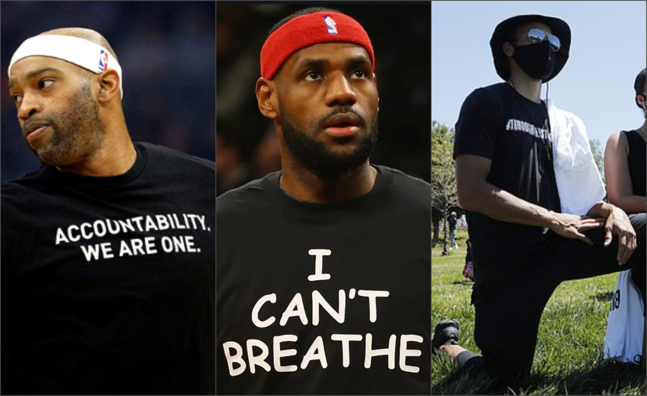 Black Lives Matter and NBA players