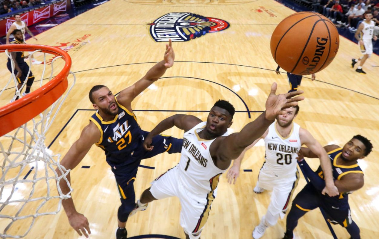 "Zion Williamson's ""NBA ready body"" on full display in Pelicans' 128-127 win over Utah Jazz"