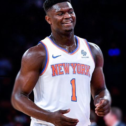 huge discount e2a07 8ae4f Buy Zion Williamson Knicks jersey, Suns, Cavs, or Bulls ...