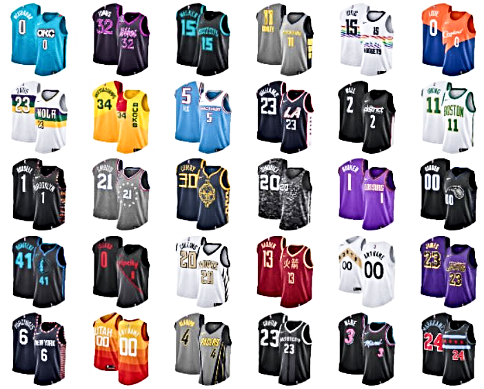 The latest NBA  City Edition Uniform  Nike jerseys for all 30 teams ... 4a8338413