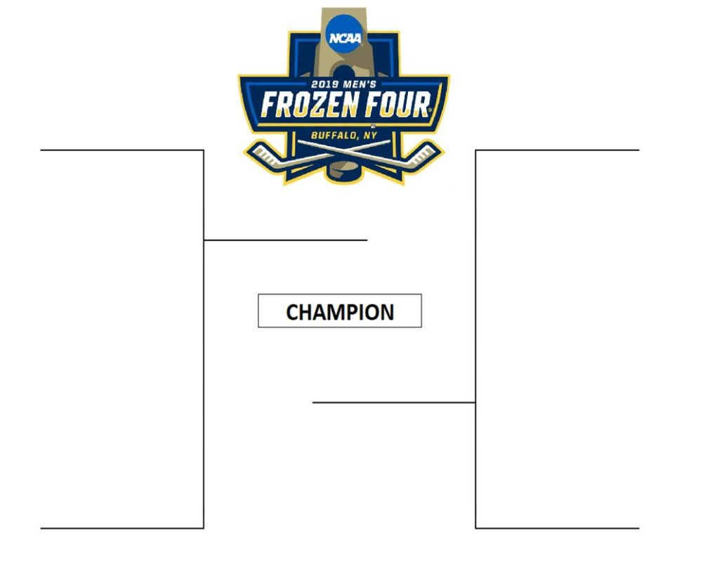 Printable Final Four Bracket Blank Pdf And Seeded 2018