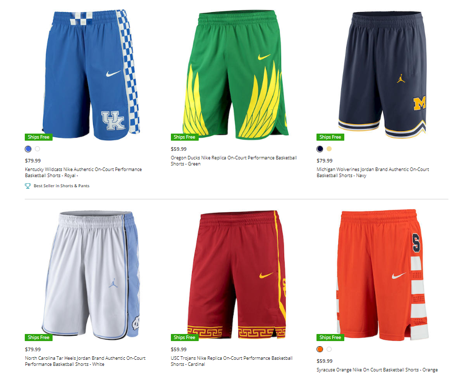 3ee5bd1a4f5 Nike On-Court Performance Basketball Shorts
