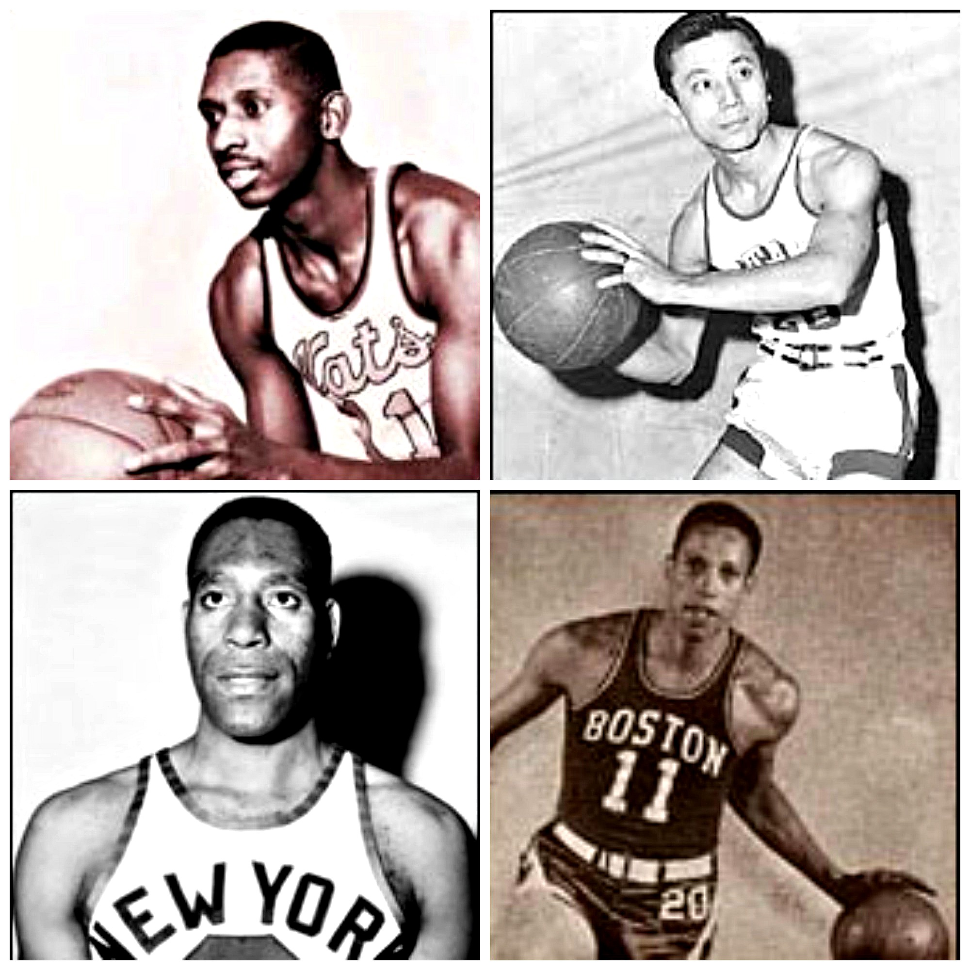 Here's a list of milestones that helped break the NBA color barrier