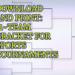 11-Team Volleyball Bracket